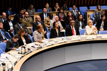 Samira Bawumia Queen Letizia Of Spain Attends A Work Meeting at the World Heath Organization's Headquarters In Geneva