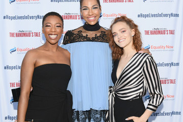 Samira Wiley Amanda Brugel 'Hope Lives in Every Name,' A Celebration With Equality Now And Hulu's 'The Handmaid's Tale' Hosted By Heather Pulier