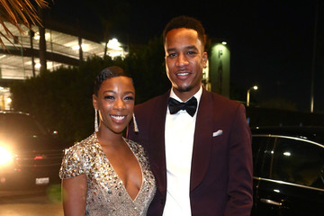 Samira Wiley Michael Che and Colin Jost's Emmys After Party Presented by Google