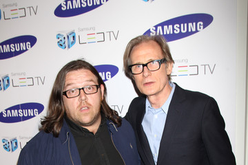 Nick Frost Bill Nighy Samsung 3D Television - Party Inside