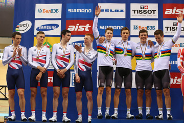 Samuel Harrison UCI Track World Championships - Day One