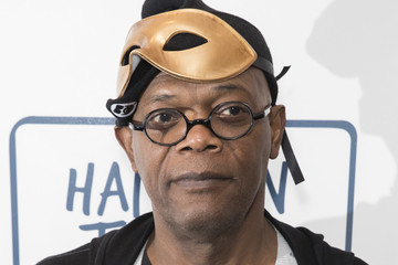 Samuel L. Jackson One for the Boys Charity Masquerave Celebrity Event