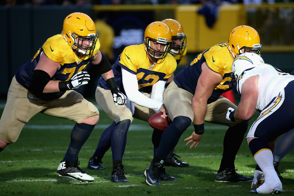 Aaron Rodgers Photos Photos San Diego Chargers V Green