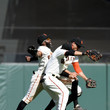 Denard Span and Hunter Pence Photos