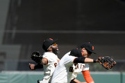 Denard Span and Hunter Pence Photos Photo
