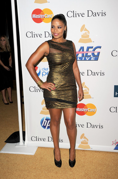 sanaa lathan pictures 2011 pre grammy gala salute to industry