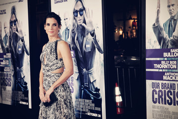 Sandra Bullock Premiere of Warner Bros. Pictures' 'Our Brand Is Crisis' - Arrivals