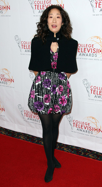 Sandra Oh - Academy Of Televison Arts & Sciences Foundation's 33rd Annual College Television Awards - Arrivals