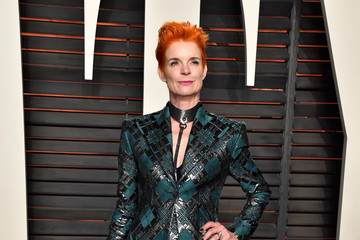 Sandy Powell 2016 Vanity Fair Oscar Party Hosted By Graydon Carter - Arrivals