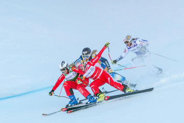 Sanna Luedi FIS Freestyle Ski World Cup - Men's and Women's Ski Cross