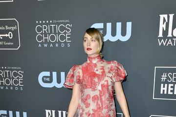 Saoirse Ronan 25th Annual Critics' Choice Awards - Arrivals