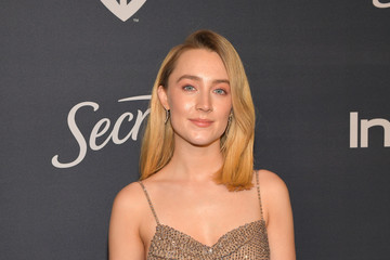 Saoirse Ronan The 2020 InStyle And Warner Bros. 77th Annual Golden Globe Awards Post-Party - Red Carpet