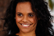 """Actress Miranda Tapsell  attends the """"The Sapphires"""" Photocall during the 65th Annual Cannes Film Festival at Palais des Festivals on May 20, 2012 in Cannes, France."""