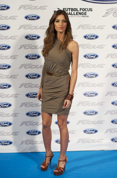 "Sara Carbonero Sara Carbonero presents the new ""Ford Focus"" contest  on February 24, 2011 in Madrid, Spain."
