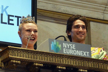 Sara Mearns New York City Ballet Cast Ring the NYSE Opening Bell