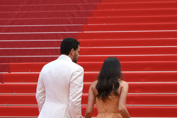 Sara Sampaio Oliver Ripley 'Once Upon A Time In Hollywood' Red Carpet - The 72nd Annual Cannes Film Festival