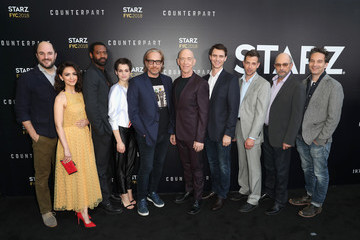 Sara Serraiocco Jeff Russo STARZ 'Counterpart' & 'Howards End' FYC Event
