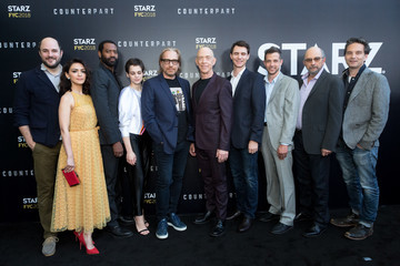 Sara Serraiocco Jeff Russo For Your Consideration Event For Starz's 'Counterpart' And 'Howards End' - Arrivals