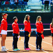Sara Sorribes Spain v Italy: Fed Cup World Group Play-off Round - Day One