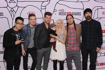 Sarah Blackwood Arrivals at the YouTube Music Awards