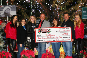 Sarah Carroll TMS Annual Tree Lighting and Grant Ceremony