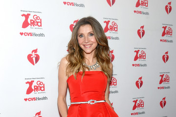 Sarah Chalke The American Heart Association's Go Red For Women Red Dress Collection 2020 - Arrivals & Front Row