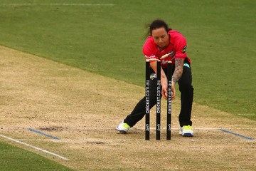 Sarah Coyte WBBL - Strikers vs Sixers