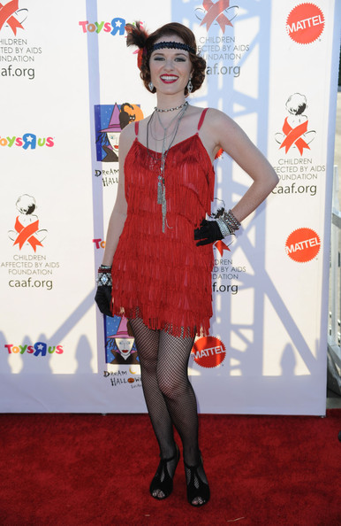 Sarah Drew - Children Affected By AIDS Foundation's 17th Annual Dream Halloween Event - Arrivals