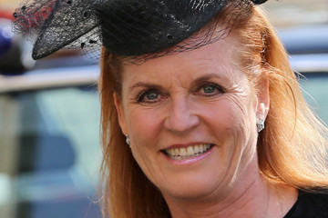 Sarah Ferguson Memorial Service Held for David Frost