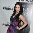 Sarah Hackett Red Carpet Opening Night And Party -