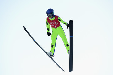 Sarah Hendrickson Ski Jumping - Winter Olympics Day -1