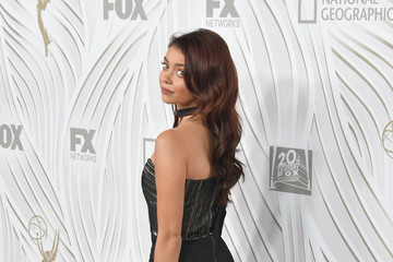 Sarah Hyland FOX Broadcasting Company, Twentieth Century Fox Television, FX and National Geographic 69th Primetime Emmy Awards After Party - Arrivals