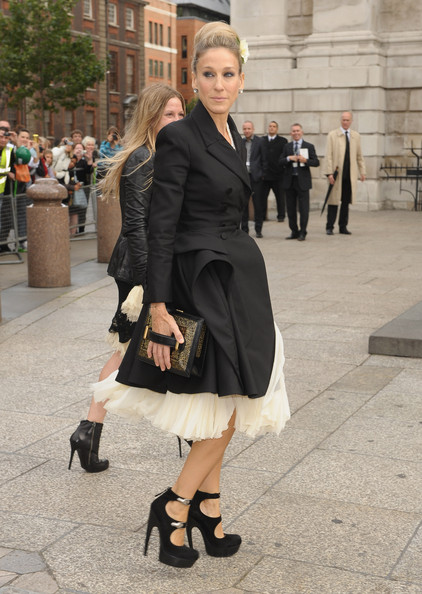 Sarah Jessica Parker Sarah Jessica Parker attends the Alexander McQueen Memorial Service at St Pauls Cathedral on September 20, 2010 in London, England.