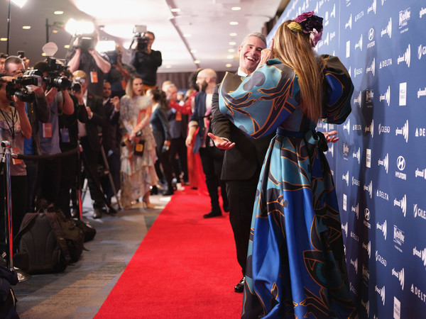 30th Annual GLAAD Media Awards New York – Arrivals [carpet,fashion,event,red carpet,flooring,costume,fashion design,performance,glaad media awards,new york,new york hilton midtown,arrivals,sarah jessica parker,andy cohen]