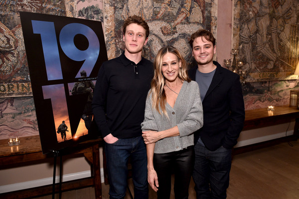 Universal Pictures And DreamWorks Pictures Presents A Special screening Of 1917 [event,tourist attraction,art,team,sarah jessica parker,charles chapman,dean,george mackay,screening,dreamworks pictures presents a special,l-r,new york city,universal pictures,dreamworks pictures]