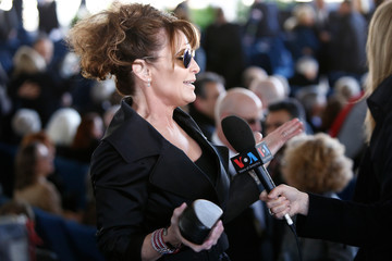 Sarah Palin Funeral Service Held For Rev. Billy Graham At The Billy Graham Library