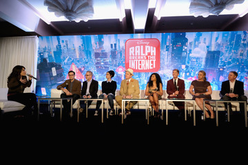 Sarah Silverman Rich Moore 'Ralph Breaks The Internet' Global Press Conference