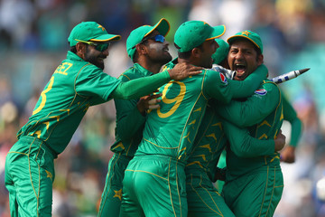 Sarfraz Ahmed India v Pakistan - ICC Champions Trophy Final