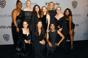 Saru Jayaraman Warner Bros. Pictures And InStyle Host 19th Annual Post-Golden Globes Party - Arrivals
