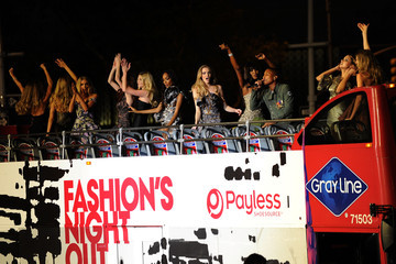 Sasha Pivovarova Fashion's Night Out: The Show - Performance