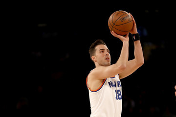 Sasha Vujacic Miami Heat v New York Knicks