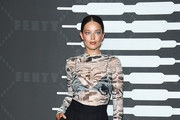 Emily DiDonato attends Savage X Fenty Show Presented By Amazon Prime Video - Arrivals at Barclays Center on September 10, 2019 in Brooklyn, New York.