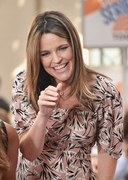 Savannah Guthrie Savannah Guthrie Photos Meghan Trainor Performs On Nbc S Today Zimbio