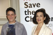 "Spanish singer Alejandro Sanz and Bianca Jagger (R) attend ""Save the Children"" awards press conference at ""Casa de America"" on June 21, 2011 in Madrid, Spain."