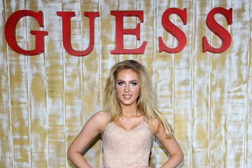 Saxon Sharbino GUESS Glitz and Glam Holiday Event