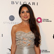 Saye Yabandeh Celebrities Attend an Oscar Viewing Party