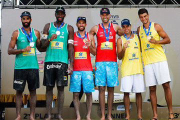 Saymon Barbosa FIVB Beach Volleyball World Tour Maceio Open - Day 6