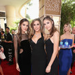 Scarlet Rose Stallone FIJI Water at the 74th Annual Golden Globe Awards