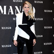 Emilia Deporet Scarlett Johansson Attends 'Mango New Collection Launch Party' in Madrid
