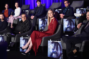 Scarlett Johansson Kevin Feige Marvel Studios' 'Avengers: Endgame' Global Junket Press Conference